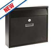 Yale Ohio Post Box Black Satin