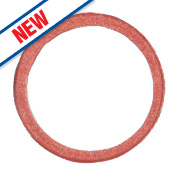 """Arctic Products Prestex Tap Connector Washers Red ½"""" Pack of 5"""