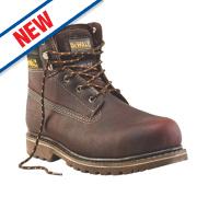 DeWalt Work Safety Boots Brown Soggy Size 7