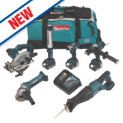Makita DLX6000M 18V 4Ah Li-Ion Cordless 6-Piece Kit LXT
