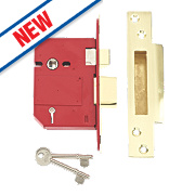 "Union BS 5-Lever Mortice Sashlock Brass 3"" / 81mm"