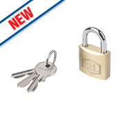 Smith & Locke Brass Padlock 30mm