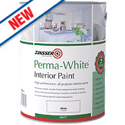 Zinsser Perma-White Self-Priming Paint Matt White 1Ltr