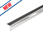 071FSX Stainless Steel Stair Edging 30 x 30 x 1000mm Pack of 5