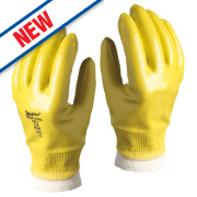 Skytec Neon Xtra Gloves Yellow X Large