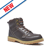 Scruffs Monsoon Safety Boots Brown Size 12