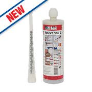 Fischer 524091 VT Vinylester Chemical Mortar Resin 380ml