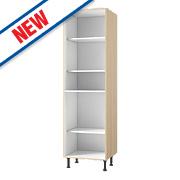 Oak Kitchen Tall Larder Cabinet 600 x 570 x 2115mm