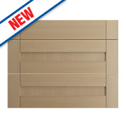 Oak Kitchens Shaker 800 Pan Drawer Fronts 796 x 732mm