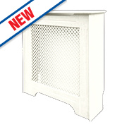 Victorian Radiator Cabinet Mini White 820 x 210 x 868mm