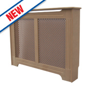 Unbranded Victorian MDF Radiator Cabinet Small Unfinished 1020 x 210 x 868mm