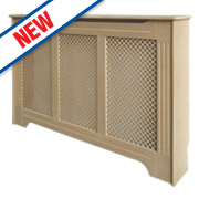 Victorian MDF Radiator Cabinet Large Unfinished 1420 x 210 x 918mm
