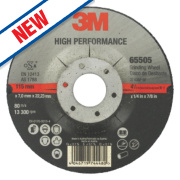 3M High Performance Metal Grinding Disc 115 x 7 x 22.23mm Bore