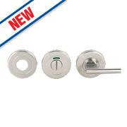 Eurospec Bathroom Thumbturn & Release Satin Stainless Steel 52mm