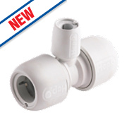 Hep2O Push-Fit Reducing Tee 22 x 22 x 10mm