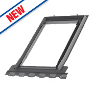 Velux EDN MK04 2000 Single Window Recessed Slate Flashing 780 x 980mm