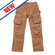 "Carhartt Multi-Pocket Tech Trouser Carhartt Brown 34"" W 32"" L"
