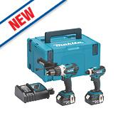 Makita DLX2005MJ 18V 4.0Ah Li-Ion Cordless LXT Combi Drill & Impact Driver