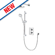 Aqualisa DCV Thermostatic Mixer Shower Built-In Chrome