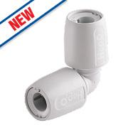 Hep2O Plastic Push-Fit 90° Elbow 10mm