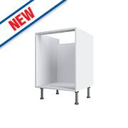 White Pan Drawer Base Cabinet 500 x 570 x 880mm