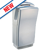 Biodrier Business² Blade Hand Dryer Metallic Silver 0.7-1.4kW