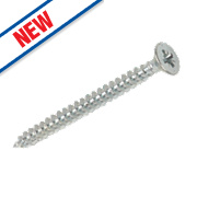 Silverscrew Woodscrews 4 x 50mm Pack of 200