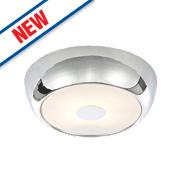 Spa Orion Bathroom Ceiling Light Small Chrome G9 28W