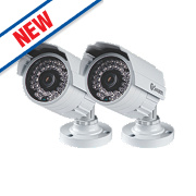 Swann PRO-742 PRO-742 CCTV Bullet Security Camera Pack of 2