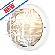 50166 LED Bulkhead Wall Light White 60W