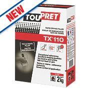 Toupret TX110 Expert Rapid Drying Interior Filler Brilliant White 2kg