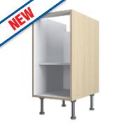 Oak Kitchen Base Cabinet 400 x 570 x 880mm