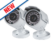 Swann PRO-842 High-Resolution Bullet Security Cameras Pack of 2