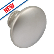 Hafele Modern Cabinet Knob Matt Nickel 34mm