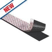 Velcro Brand Heavy Duty Stick-On Tape Black 50mm x 1m