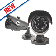 Yale HDC-303G-2 HD CCTV Bullet Cameras Pack of 2