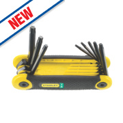 Stanley Folding Hex Key Set Torx 8Pcs