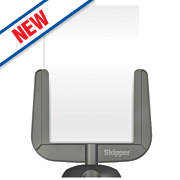 Skipper Retractable Barrier Sign Holder Grey