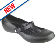 Crocs Alice Ladies Non-Safety Work Shoes Black Size 4