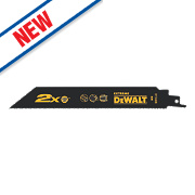 DeWalt DT2408-QZ Extreme Reciprocating Saw Blades Metal 203mm Pack of 5