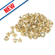 Forge Steel Twister Eyelets Pack of 100