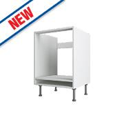 White Kitchen Under Oven Housing Cabinet 600 x 570 x 880mm