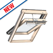 Velux Integra Solar Roof Window Centre-Pivot Noise Reduction Clear 660 x 1180mm