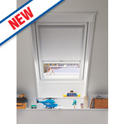 Velux Electric Black-Out Blind White 1340 x 980mm