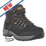 Site Jasper Hiker Safety Boots Black Size 10