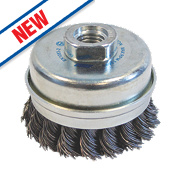 Norton Expert Twist Knotted Cup Brush 65mm
