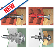 Rawlplug R-SKJ-BAC Bathroom Accessory Fixing Kit