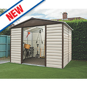 Yardmaster Sliding Door Apex Shed 10 x 8 x 7