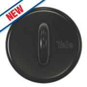 Yale Ground / Wall Anchor Black 50mm