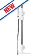 Redring Flexi Shower Kit Modern Design White